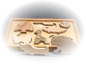 動物積木パズル