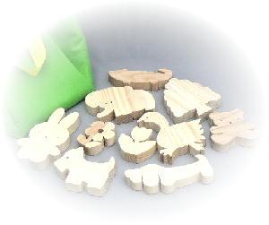 動物積木バッグ