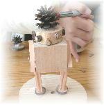 木工教室作品